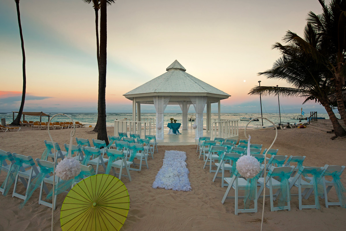 Ocean Blue Punta Cana Sand Golf And Beach Resort Weddings